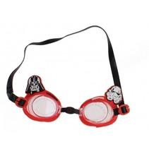 zwembril Star Wars rood/zwart