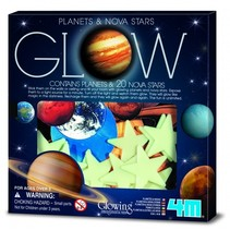 Glow in The Dark Pack: Planeten en Supernova Klein