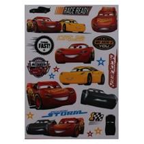 muurstickers Cars 24 stuks
