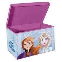Frozen 2 opbergbox 57,5 liter blauw/paars