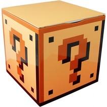 opbergblik Super Mario Bros Question 18 cm geel