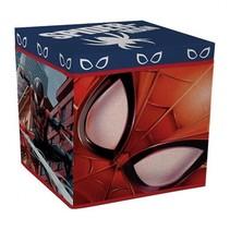 opbergbox Spiderman 30 cm rood/blauw