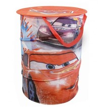Cars wasmand pop-up jongens rood 38 x 50 cm