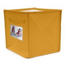 persoonlijke opbergbox 22 liter geel