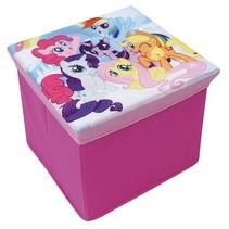 My little Pony opbergmand/kruk roze 56 x 36 x 31 cm