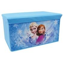 Opbergmand Frozen meisjes blauw 56 x 36 x 34 cm
