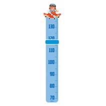 groeimeter piloot junior 115 cm hout blauw