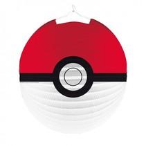 lampion Pokémon junior 25 cm rood/wit/zwart