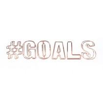 decoratie draadletters 3D #goals