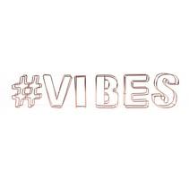 decoratie draadletters 3D #vibes
