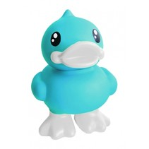 spaarpot eend blauw 16 cm