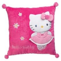 Kussen meisjes roze 43 cm