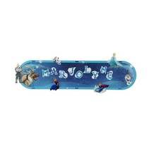 decoratiebord Frozen met led-verlichting 36 cm blauw