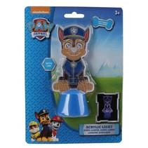 acryllampje Paw Patrol Chase 13 cm blauw