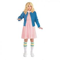 verkleedset meisjes polyester roze/blauw