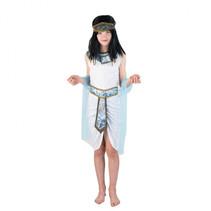 Kids Egyptian 8-10 wit blauw