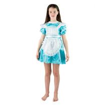 kinderkostuum dienstmeisje 'Alice in Wonderland' mt 92