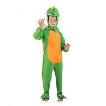verkleedkostuum dinosaurus junior groen 4-6 jaar