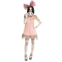 kostuum griezelige pop roze dames
