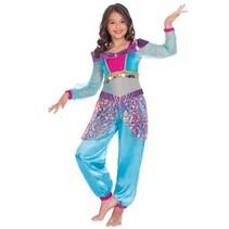 kostuum Arabian Genie meisjes multicolor 8-10 jaar