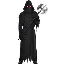 kostuum Glaring Reaper heren zwart