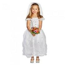 kostuum bruidsjurk wit meisjes