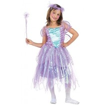 kostuum Fee met accesoires meisjes paars