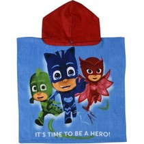 badponcho It's Time To Be A Hero junior 50 x 100 cm