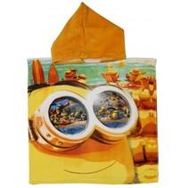badponcho Vacaaay oranje  junior 50 x 100 cm