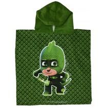 badponcho to The Gekko Mobile groen junior 50 x 100 cm