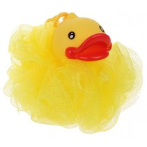 badspons badeendje geel 12 cm