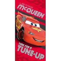badhanddoek Cars rood 70 x 140 cm