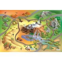 speelkleed dieren waterdicht 140 x 200 cm