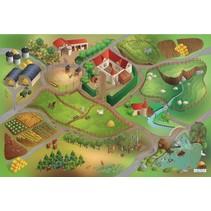 buitenspeelkleed boerderij waterdicht 140 x 200 cm