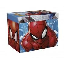 Spiderman opbergbox/speelmat 30 x 30 x 30 cm