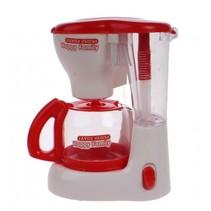speelgoed koffiezetapparaat junior rood/wit 15 cm