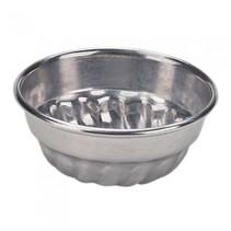 bakvorm aluminium 7 cm zilver