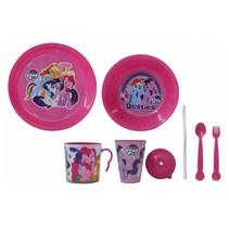 serviesset My Little Pony meisjes roze 8-delig