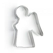 uitsteekvorm engel  6 x 4 x 1 cm blank staal