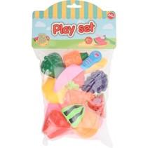 speelgoedfruit 31 x 18,5 cm 19-delig multicolor
