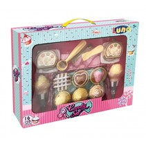 cupcake en ijsjes speelgoedeten 16-delig