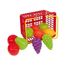 winkelmandje 23 cm 20-delig groente en fruit
