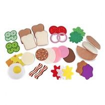 Vilten sandwich set 33-delig