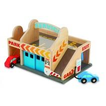 garage met auto's 3-delig
