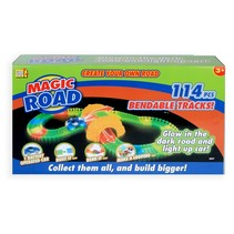 racebaanset Magic Road Glow in the Dark 114-delig