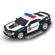 Go racebaan auto Chevrolet Camaro ZL1 2015 sheriff