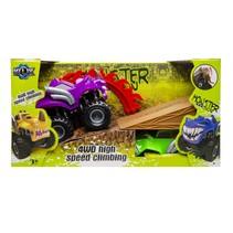 monster truck 4x4 paars