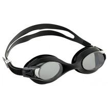 zwembril Goggles unisex anti-fog 17 cm zwart