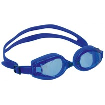 zwembril Goggles unisex anti-fog 17 cm blauw