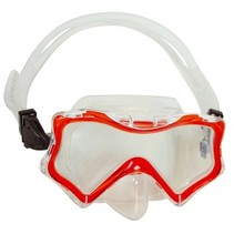 duikbril Bora Bora junior rood